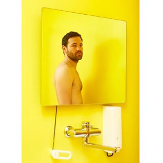 portraitfotografie porträt digital frame colours bathroom photography gelbgelbgelb citrus zitrone matching