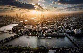londoneye riverthames london excelcharter aerialphotography londonist guardiancities cityview nikonuk
