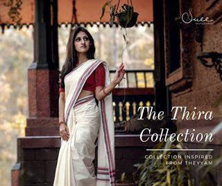 kerala suee saree photography handloom traditional