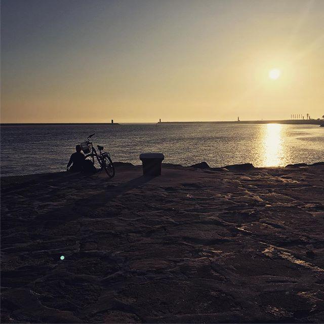 bike douro porto portugal sunset