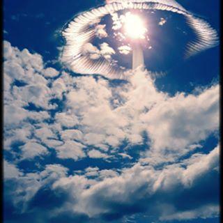 skyporn mushrooms groundinthesky fungiintheskywithdiamonds mashup sky mix clouds aurora