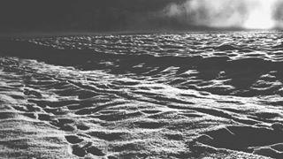 inthedistance monochrome snowland blackandwhite snowscape frozenland frozen distance fog forest landscape surface snow kraškopolje