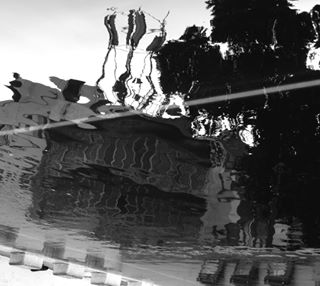 blackandwhite frustration housemonster frankeinstein michaelchall dexter ultron reflections monstersinwater bentreflections terminator darkplace demonshideinside hauntedhouse