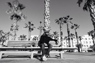 blackandwhite barceloneta photography palmtrees earlymornings workhard nice music miamistyle