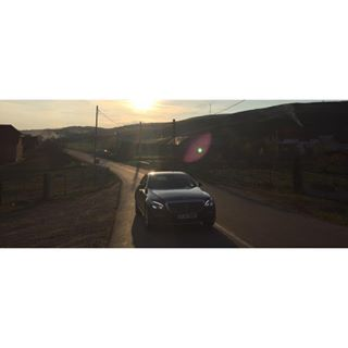 car lifestylephotography iphoneography smoke commercial lensflare dop hills vsco countryside mercedesbenz shotoniphone mercedes vscocam photographer lifestyle autumn cinematography carphotography cinematic advertising ride eclass advertisingphotography landscape sunset house