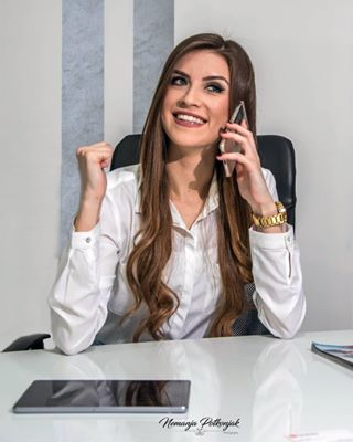 whiteshirt successfulwomen succesfullwoman succesfull stockphotograpy stockphoto stock smiling smile shutterstockportfolio shutterstock photographers phone office businesswoman businesslook