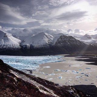 glacier iceland skaftafellsjökull