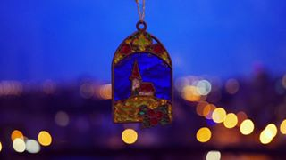 amazinglens blue bluehour bokeh budapest christmasdecor colors lights lumix mik photoftheday winter