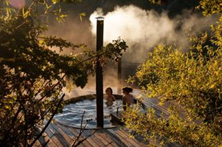 woodenhouse vilches hottub nature outdoors woods trees photography chile