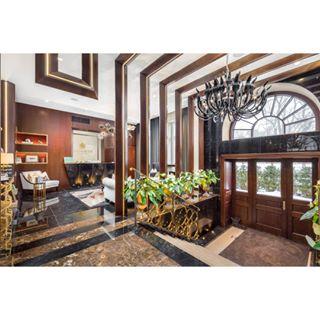 marble realestate canon📷 photooftheday luxuryrealestate follow hardwood latio latvia darkwood riga luxury gold plants flasphotography