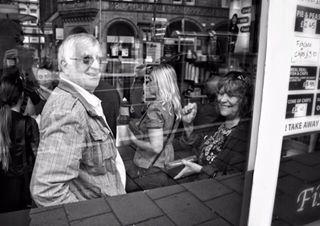 drakes westyorkshire reflection window fishandchips architecture food drakesfishshop interiors bradford glass streetphotography