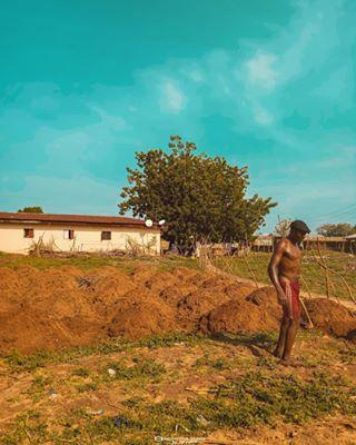 hardwork suffer curse till natures harden work soil farm