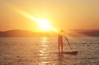 activity beautiful greece kayak kayaking leisure light ouranoupoli photography photographylover sport sundown sunset tranquility travel