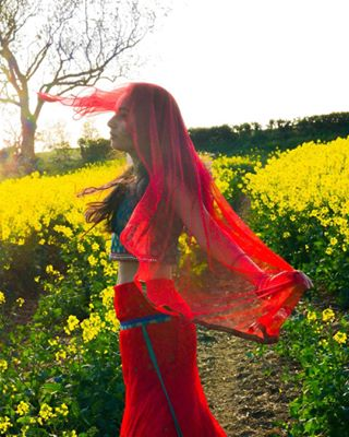 beauty inbalance outdoors photography henna editorial fashion indiandress sunlight colourfulculture primarycolours overexposed