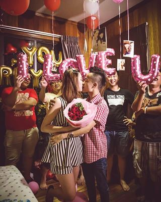 iloveu success livegallery weddingproposal kissing tanjungsepang