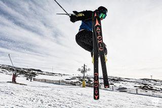 portugal kicker skier extremesports 1 mountainlife terrain athlete ski freestyle serradaestrela skiing jump modopstudios park freeskiing sportsphotography snow mountain photooftheday