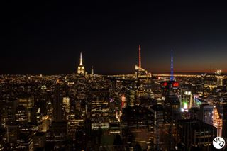 landofthefreebecauseofthebrave godblessamerica unitedstates travelphotography newyork topoftherock nightshot nightout justgoshoot manhattan bigcitylights m_j_photography bigcitylife traveling usa lights america dream_new_york night empirestatebuilding longexposure empirestateofmind in unitedstatesofamerica nightphotography skyline nyc cityofdreams travel
