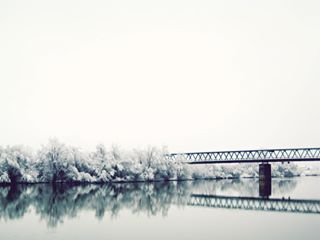photo river bosniaandherzegovina gradiska savariver contrast hometown photographylovers bridge reflection tree water canon nature photography instagood canon_photos photogrid naturephotography white instaphoto winter canon_official riverside photoofday photographer
