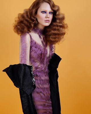 photographer makeupartist makeup hair amazing fashion photography ootd 70s love lanamuellercouture pretaporter model dress