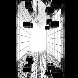 abstractart wayout geometry nodaywithoutaframe blackandwhitephoto shotoniphone architecture gennbar day72