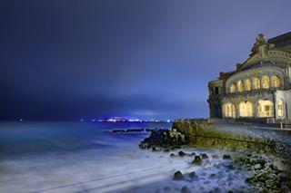 sigmaart sea nikond750 nightphotography night constanta coldnight casino blacksea