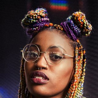 colors style newwork street portrait rainbow fashion rotterdam photography braids