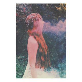 smoketricks redhead editorialphotography filters woodland forest