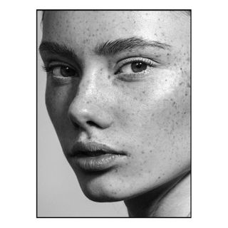 beautiful blackandwhite blackandwhitephotography closeup face freckles munich munichphotographer natural portrait