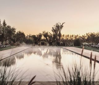 annamalmbergphoto sneakpeak pool earlymorning mist morocco sunrise