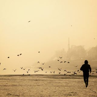 main_vision silhouette man agameoftones running landscapephotography photography fog ig_great_pics lifeofadventure