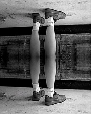 surrealism surreal streetstyle streetphotography sneakers shoes photography nike legs justdoit blackandwhite airforce