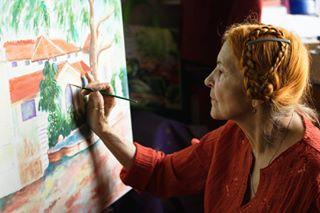 painter art artwork paint portraitphotography vladpopovphoto painting