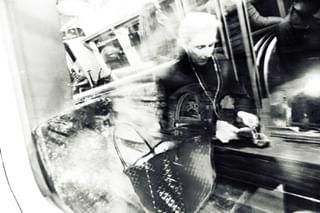 people denmark copenhagen longexposure citylife urbanart streetphotography ontheway train blackandwhite