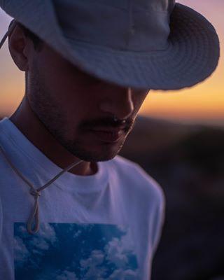 milosgreece sunset selfportrait