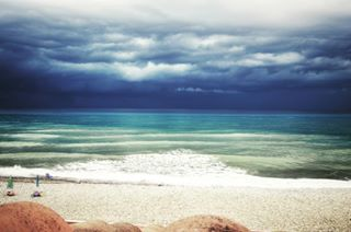 inthestorm bluesky danger beach sea photography clouds nature sun travel ocean summer sky art dangerous lake water cilento_pic cilento photooftheday tornado italy wonderful_places beautiful toptags そら instagood amazing storm
