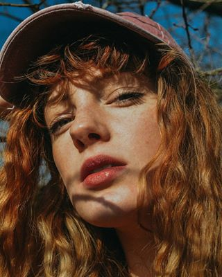 portrait light portraitphotography beauty freckless availablelight face redhead