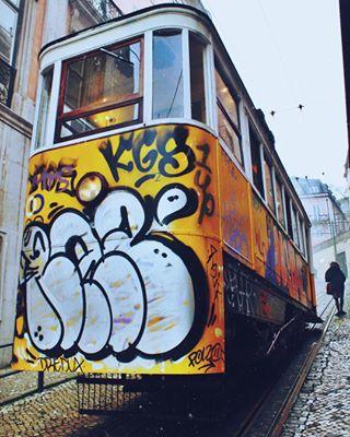 lisbonportugal holiday travelphotography canon cityphotography photography europe lisboa afterlight lisbon portugal winter travel eléctrico photoshop sigma city europa canon1100d tram