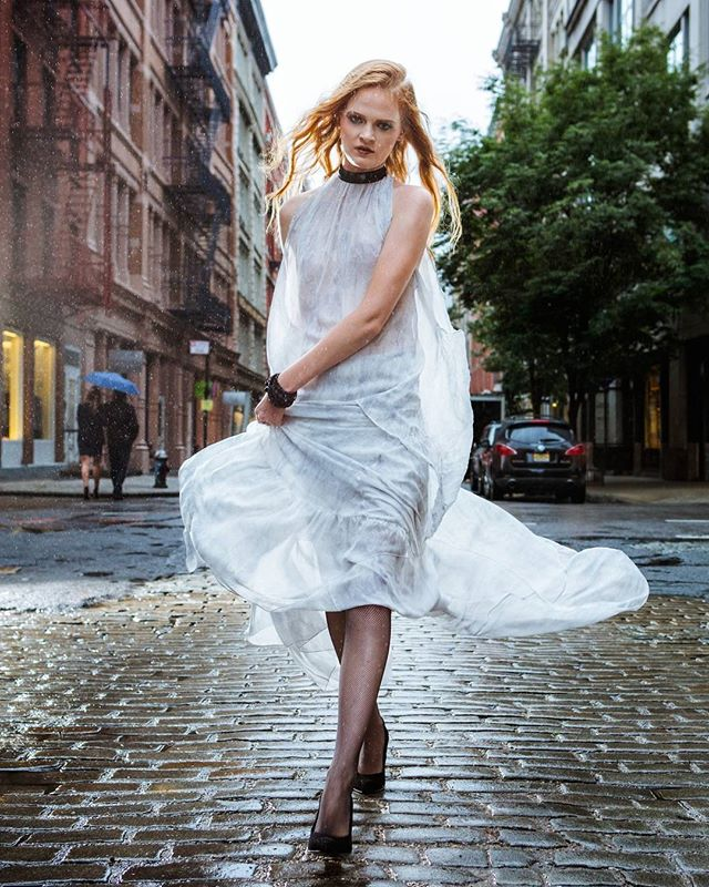 soho art artdirector nofilter model styling rain photography tbt nyc fashion