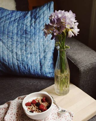 breakfast spring morning verivalbio springtime freesia pillowcase copenhagen slowmorning reloveandroses
