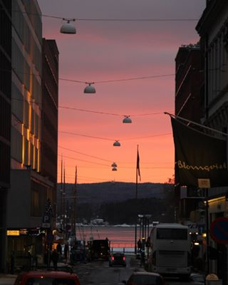 sunset norge view nature cityscape scale oslo streetphoto akkerbrygge sky norway
