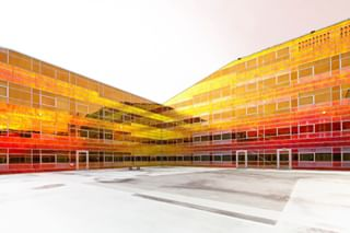 colorful architekturfotografie archilovers unstudio almere netherlands sensational_architecture businesspark architecturephotography glassfacade ladefense