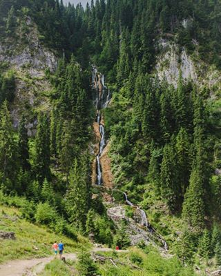 instagood landscape nikon nature photography green mountain picoftheday instatravel romania cascadacailor travel discoverromania waterfall
