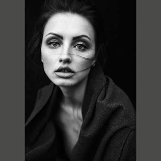 fashionphotographer beautifulmodel blackandwhitephoto pureportrait prague katemachova