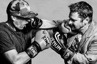 punch angry portraitphotography photoshoot studiophotography by blackandwhite mantasrepečka portrait man photography splash boxing dogma emotion band photo