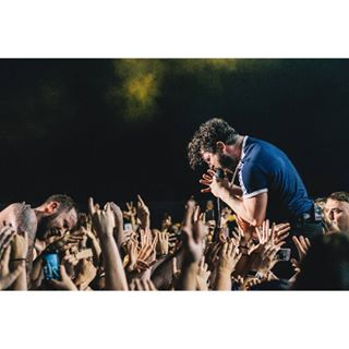 performance concert musician fans photography singer concertphotography lithuania foals crowd music hands band emotions joy photo