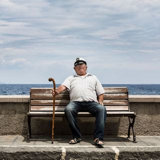 fisherman old Personality Editorial Italien Portrait Story Reportage Sizilien