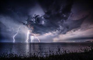 igers photo thunder instagood instadaily nikonphotography clouds travel thunderstorm sky nikon amazing vsco bulgaria nikonlandscape blacksea naturelovers beauty picoftheday lightning nature beautiful sea skyporn storm photooftheday photography