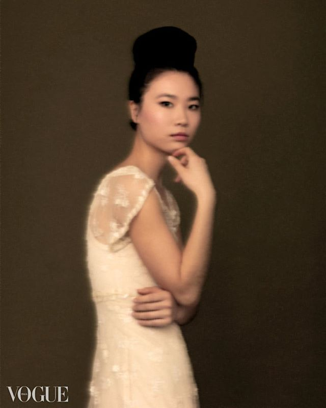 newyorkcity fashion asian asianinspired ethereal vogueit photovogue fineart newyork dream portrait soft editorial photography culture monochromatic dreamy vogueitalia