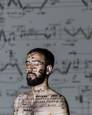 partitur portrait percussion basel editorial projection artist music