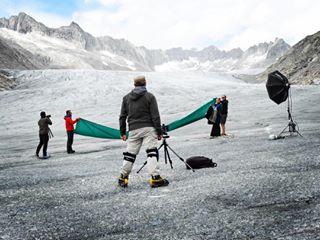 walkingonsunshine rhonegletscher glacier kendris windy hardwork swissalps famousbtsmag